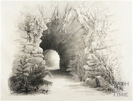 The Grotto in Garden 1844