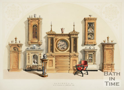 Ornamental Furniture in Mr. Beckford's Collection 1844