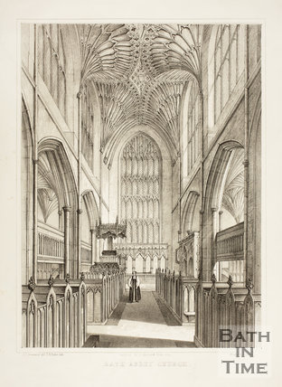 Bath Abbey Church 1851