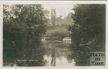 The Ferry, Warleigh c.1905