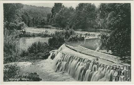 Warleigh Weirs c.1935