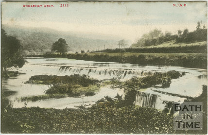 Warleigh Weirs c.1906