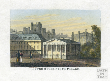 Lower Rooms, North Parade, Bath c.1827