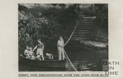 Warleigh Ferry 1950