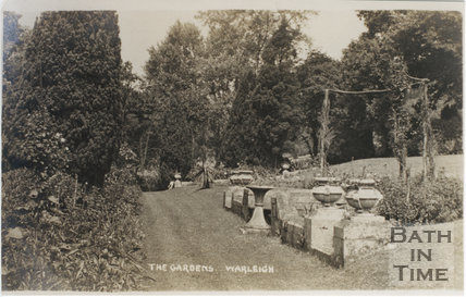The Gardens, Warleigh Manor c.1908