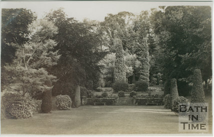 The Croquet Lawn, St. Catherine's Court, St. Catherine c.1907