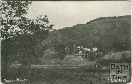 Warleigh Manor, near Bath c.1907