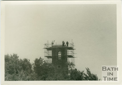 Brown's Folly, Bathford. Under repair c.1970
