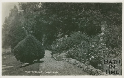 The Terrace, Warleigh Manor c.1907