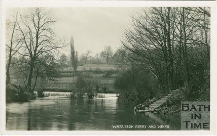 Warleigh Ferry and Weirs c.1907