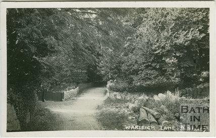 Warleigh Lane c.1905
