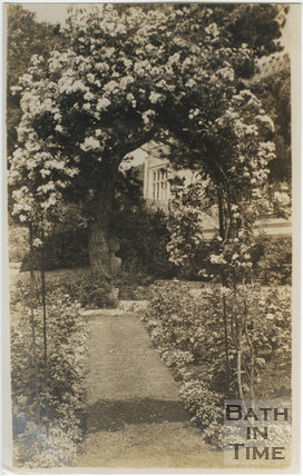The Gardens, Warleigh Manor c.1912