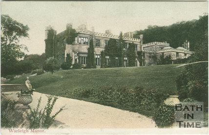 Warleigh Manor c.1905