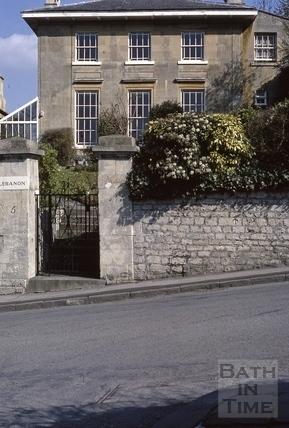 Widcombe Hill Cambridge Place 1973