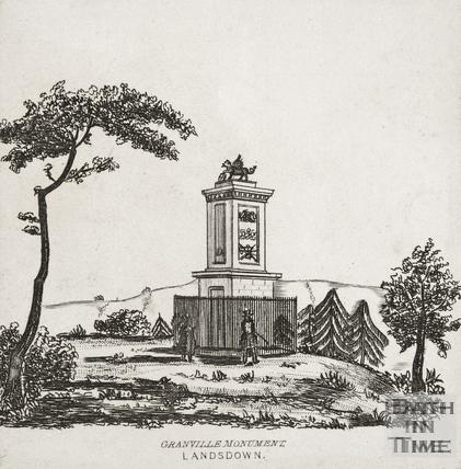 Granvile's Monument, Lansdown c.1860?