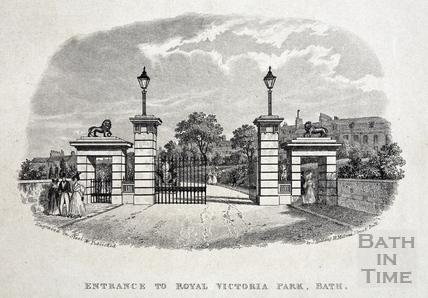Entrance to Royal Victoria Park c.1845