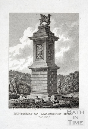 Monument on Lansdown Hill 1823