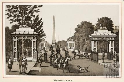 Victoria Park c.1861