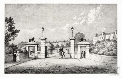 Rivers Gate, Royal Victoria Park c.1835