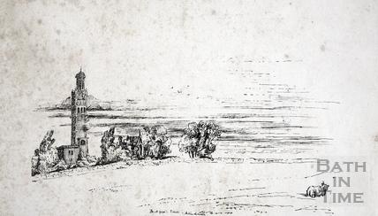 Sketch view of Lansdown Tower