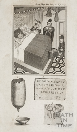 Antiquities found in Bath Nov 1804