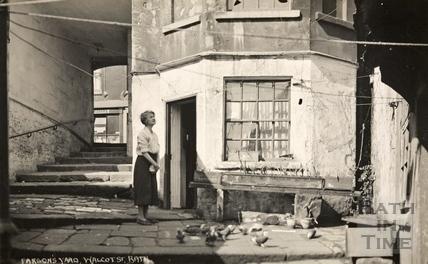 Parsons Yard, Walcot Street c.1930s