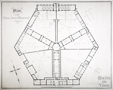 Plan of the Bath Union Workhouse, 20th December 1838