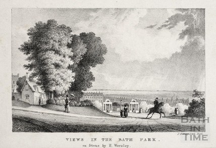 Views in the Bath Park c.1835
