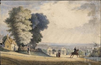 Views in the Bath Park c.1835