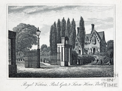 Royal Victoria, Park Gate, & Farm House 1839