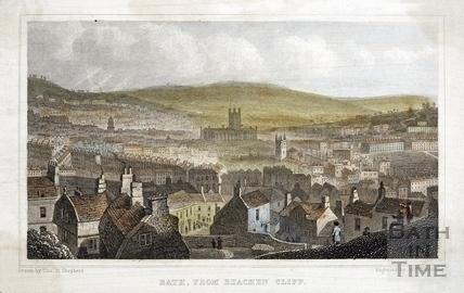 Bath, from Beachen Cliff 1829