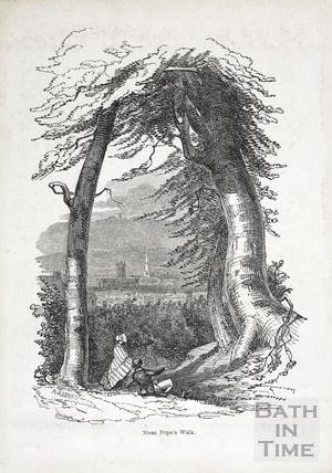 Near Popes Walk 1847