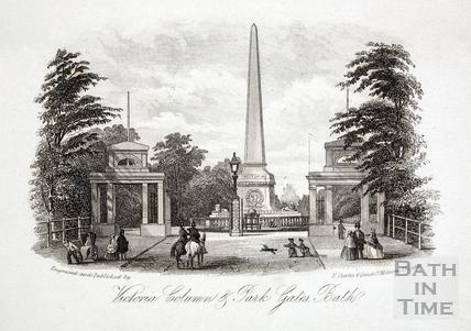 Victoria Column & Park Gates c.1860