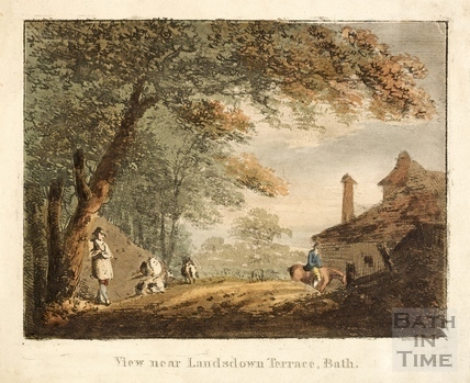 View near Lansdown Terrace c.1810