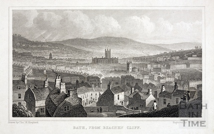 Bath, from Beachen Cliff 1829