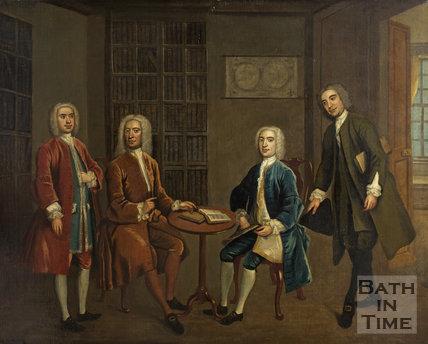 The Four Bath Worthies c.1735