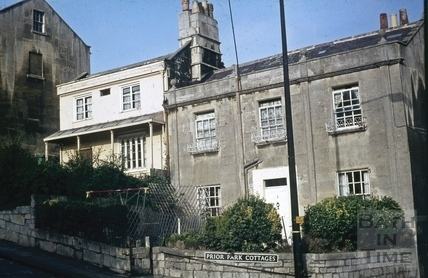 Prior Park Cottages, Bath c.1970