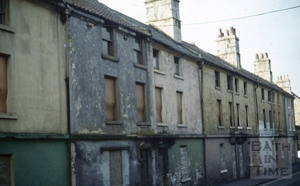 Ralph Allen's Row, Prior Park Road, Bath Dec 1972
