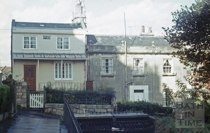 Prior Park Buildings, Bath November 1970