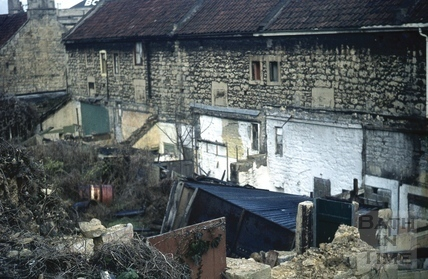 Ralph Allen's Row, Prior Park Road, Bath 17 Dec 1972