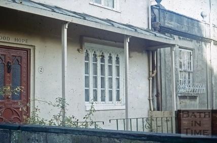Prior Park Buildings, Bath November 1970