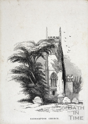 Bathampton Church 1848
