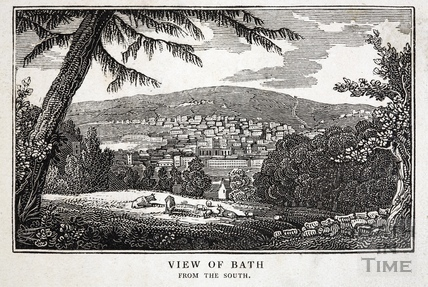 View of Bath from the South c.1825