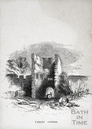 Farley Castle, Farleigh Hungerford 1848