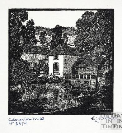 Claverton Mill nr Bath 1953