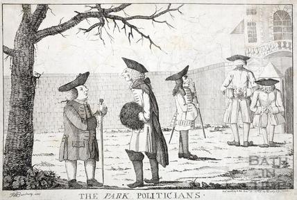 The Park Politicians 1766