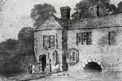 Bathwick Mill, before Pulteney Bridge was erected.