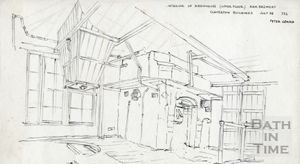 Ram Brewery, Claverton Buildings Jul-1968