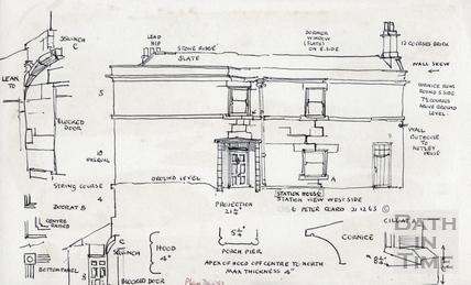 Station View, Claverton Street, Bath 21 Dec 1963