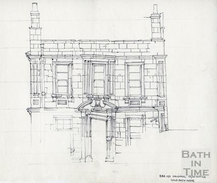 Cold Bath House, 26 Claverton Street 13/20 September 1964